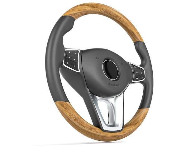 Рулевое колесо автомобиля
