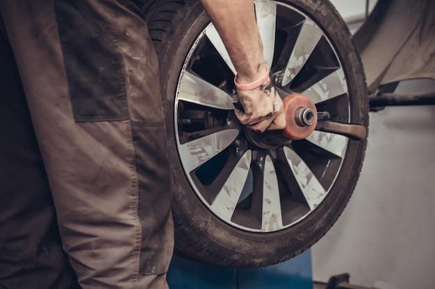 Мастерская балансировочных станков колес.