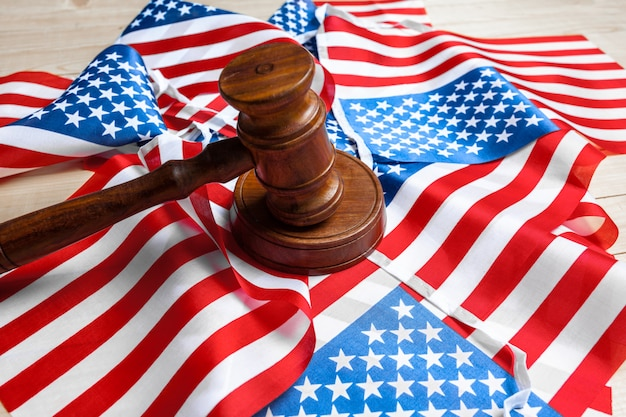 小velとアメリカの国旗