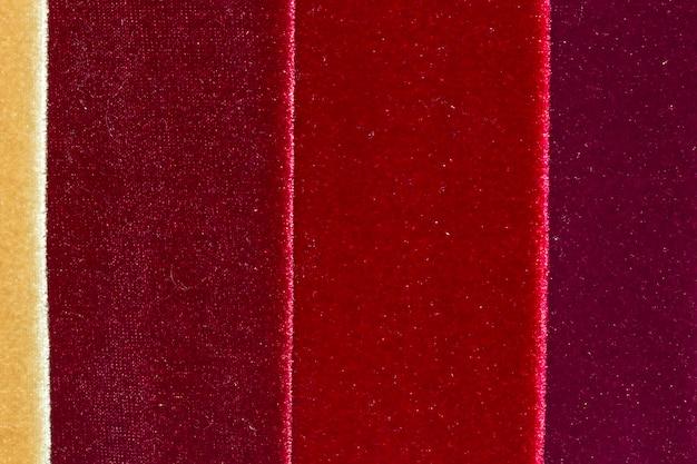 Velvet fabric pattern
