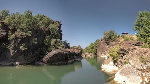 Venetikos river in greece
