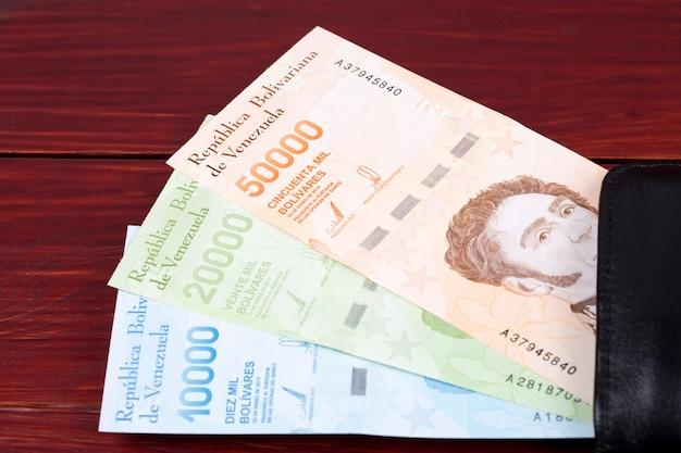 Венесуэльский боливар - новая серия банкнот в кошельке