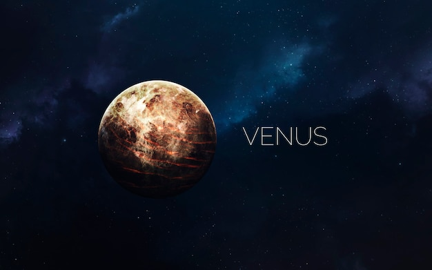 Venus in space
