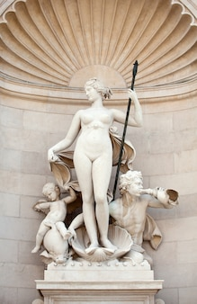 Venus statue , trieste