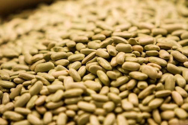 Verdinas lentils on the market
