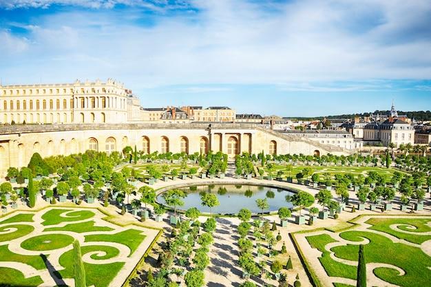 베르사유, 프랑스 2016년 9월 10일: 베르사유 정원