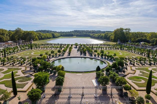 Versailles garden in france