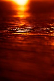 Vertical abstract sunset ocean texture background hd