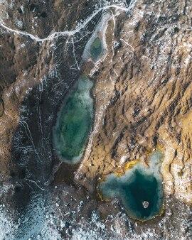 Вертикальный снимок моря с воздуха