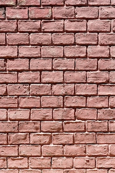 Vertical copy space brick wall background