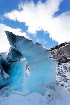 수직 얼음