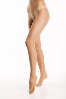 우아한 란제리 관능적 인 섹시한 여자의 세로 이미지