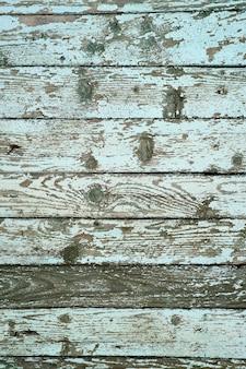 옛날 나라 집의 풍화 나무 외벽의 수직 이미지