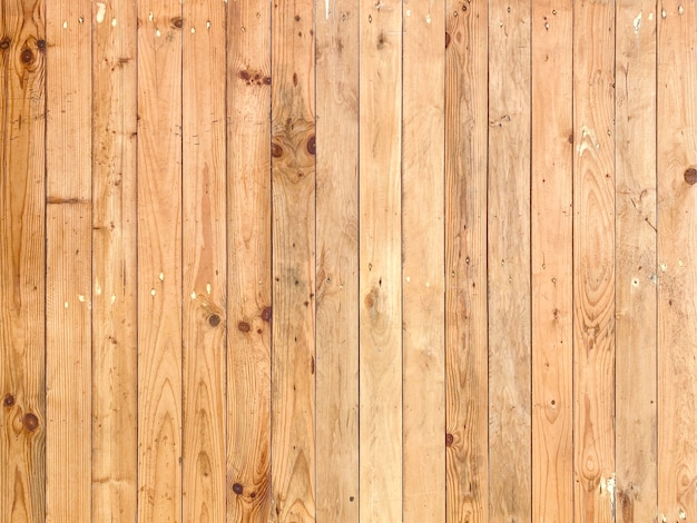 Vertical natural brown wood panel wall background.