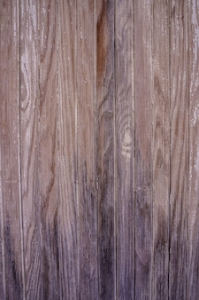 Vertical photo of the texture of an old worn out wood. retro image