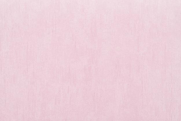 핑크 색상의 추상적 인 배경을위한 비닐 벽지의 수직 거친 질감