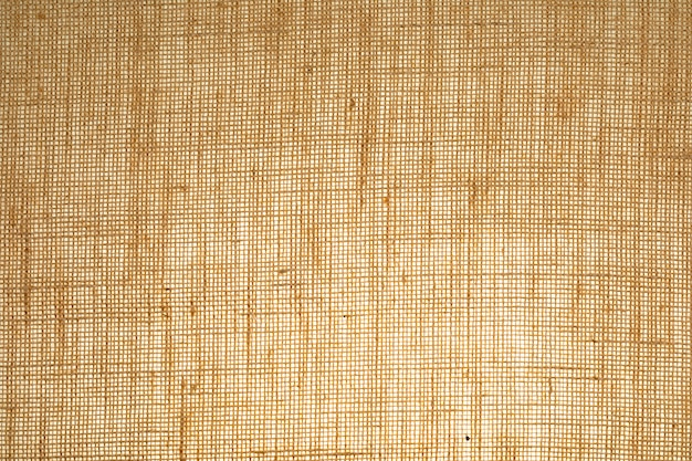 Vertical sack texture with visible fibers.