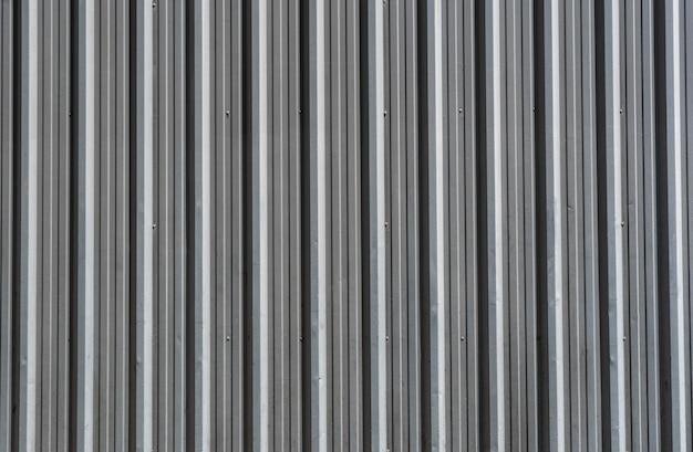 세로 줄무늬 철 소재 배경