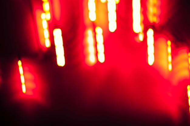 Вертикальные полосы света