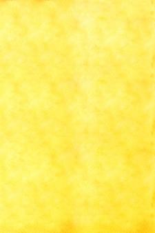 縦の黄色の水彩画の詳細
