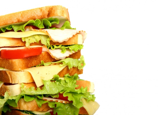 Very big sandwich