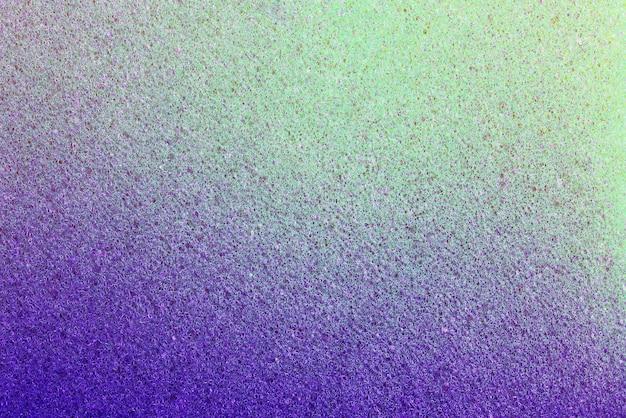 Очень яркая цветовая фактура пены