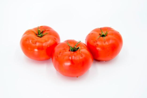 Very delicious fresh red tomatoes
