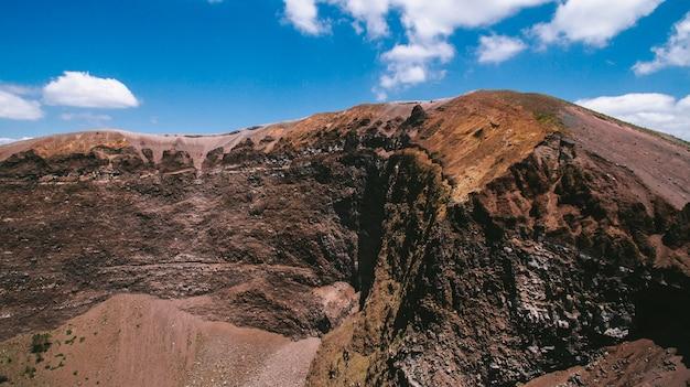 Vesuvius volcano italy crater