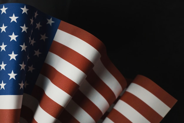 The veterans day  concept united states of america flag
