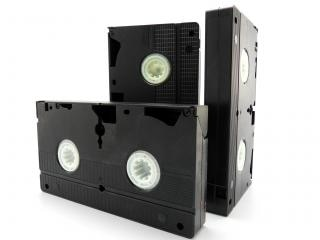 Vhs cassettes, obsolete