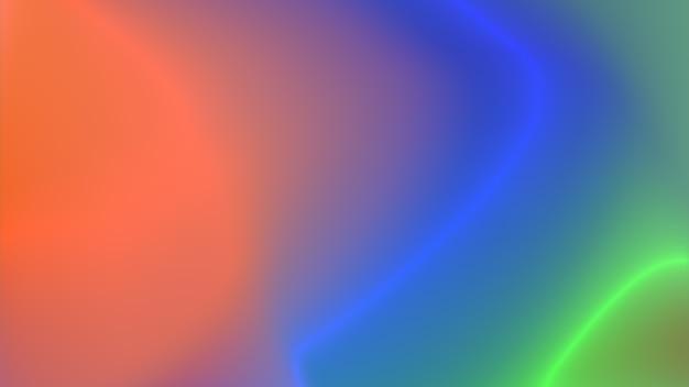 Яркая голографическая градиентная фоновая текстура Premium Фотографии