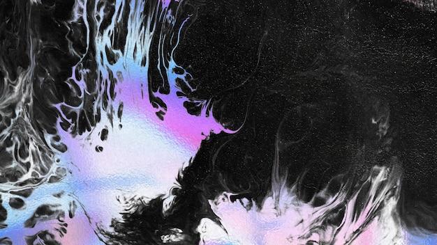 Vibrant neon colorful liquid background