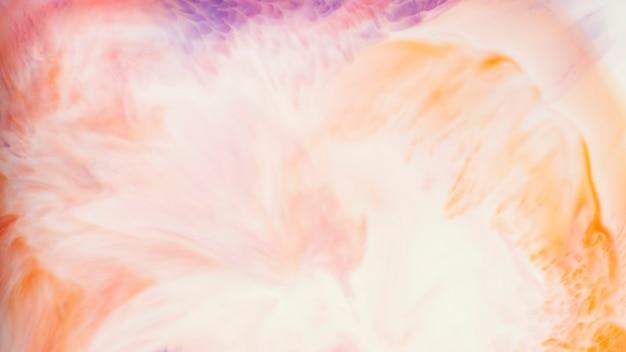 鮮やかなオレンジ色の水彩画の背景