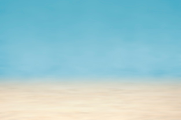 Vibrantly colored blue and beige background