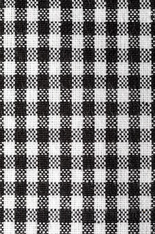 Vichy tablecloth texture. copy space.close-up vichy tablecloth texture. copy space.close-up vichy tablecloth texture. black and white. copy space.