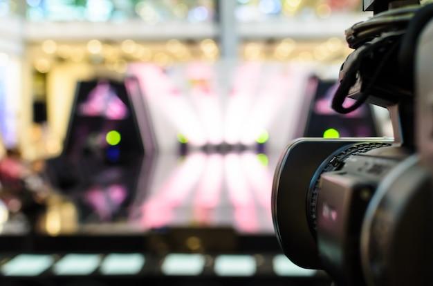 Video camera has focus