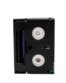 흰색 배경에 고립 된 비디오 카세트 표준 minidv