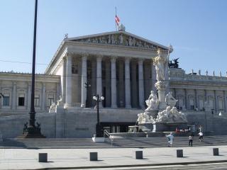Vienna - house of parliament