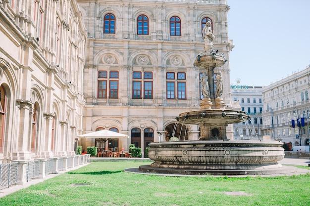 Vienna opera house facade