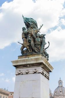 로마 비토리아노의 기념비에서 보기