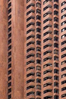 보고타, 콜롬비아에있는 주거 건물에서보기