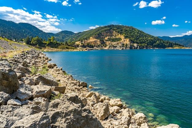 セルビアのzaovine湖で見る