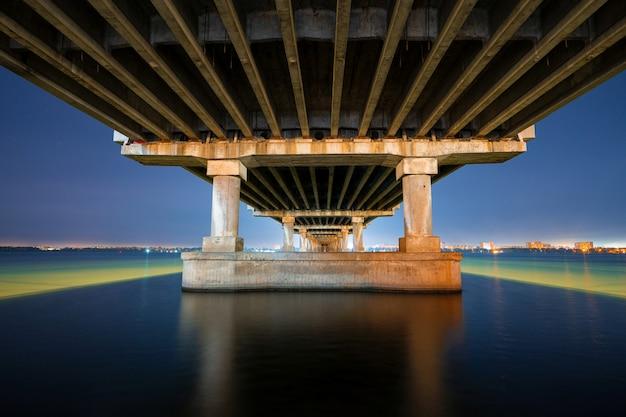 View of a big powerful beautiful bridge