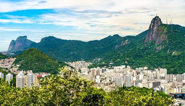 View of botafogo, a beachfront neighborhood of rio de janeiro