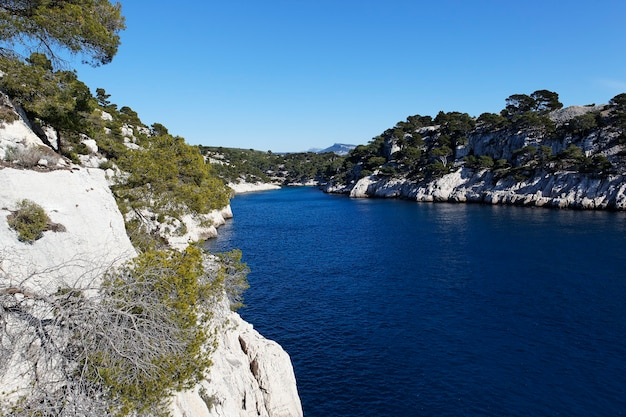 View of calanque