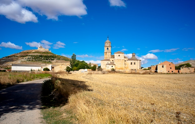 View of castrojeriz, spain