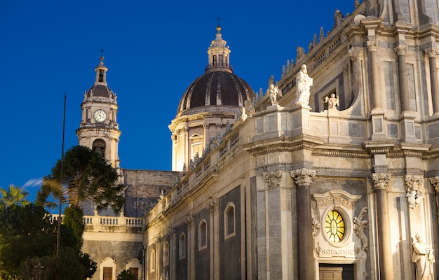 View of catania cathedral