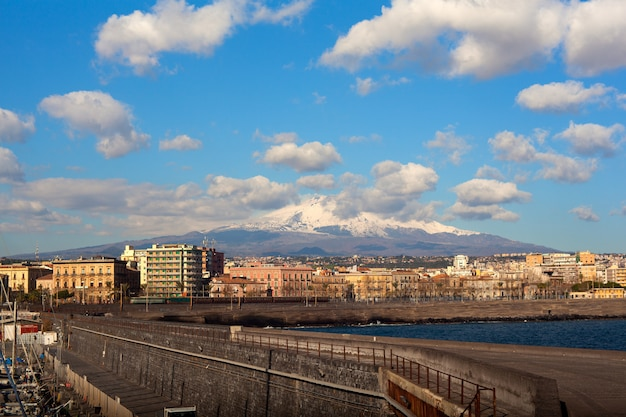 View of catania