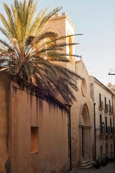 View of the church of san martino vescovo, ortigia