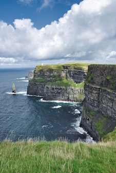 View of the cliffs of moher landscape